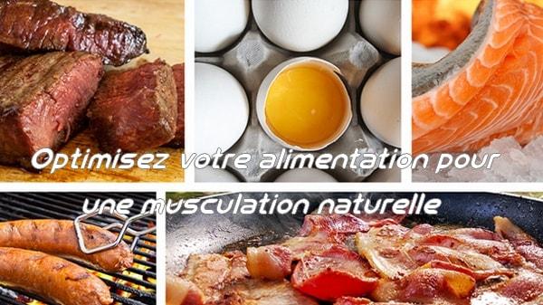 Optimisez votre alimentation pour une musculation naturelle