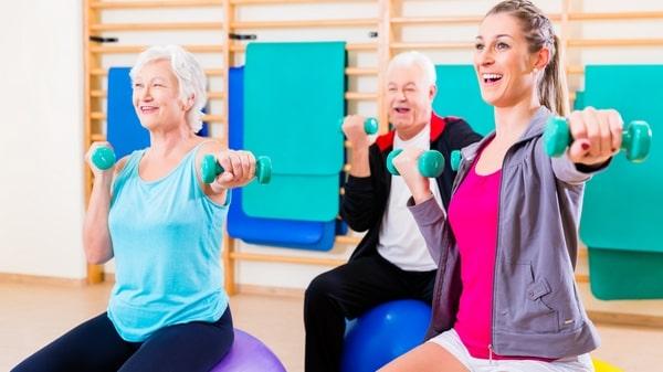 Les bénéfices de l'exercice physique en cas de MVC
