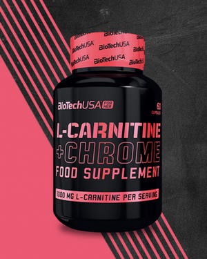 L-Carnitine + Chrome For Her - BioTech USA