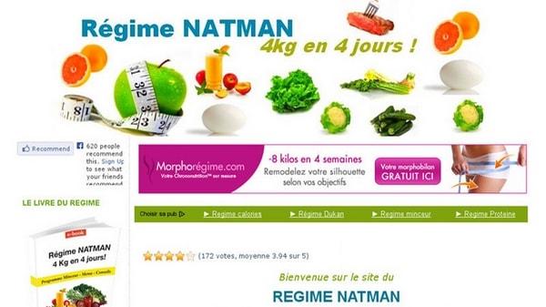 Tout savoir sur le régime Natman