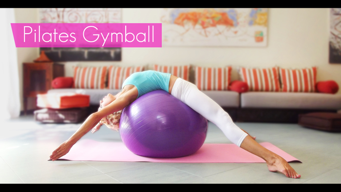 Pilates sur Gymball